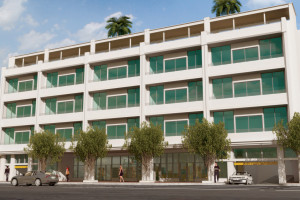 Exterior view of CocoStyles Residences.