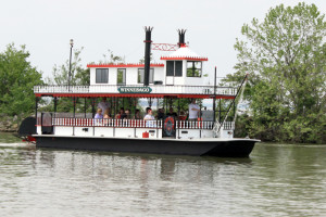 Boat tours at Cedar Point Resort.