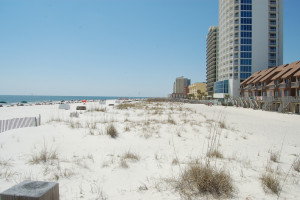 Beach at Southern Shores Beach Resort.