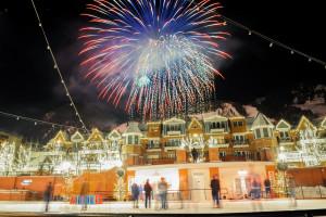 Holidays at Aspen Square Condominium Hotel.