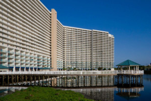Exterior of Laketown Wharf.