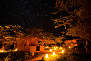 Exterior view of Maji Moto Camp.