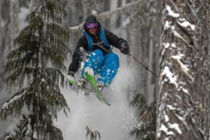 Skiing at Packwood Lodge.