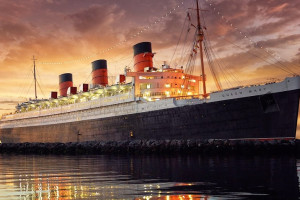 Exterior view of Queen Mary Hotel.