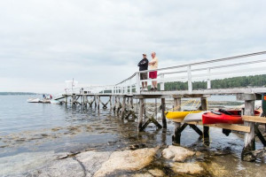 Groups at Linekin Bay Resort.