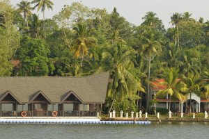 Exterior view of Kerala and Ashtamudi Resorts.