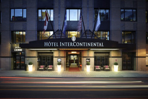 Exterior view of Hotel Inter-Continental - Montreal.