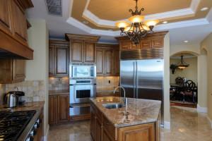 Rental kitchen at beachrentals.mobi. LLC.