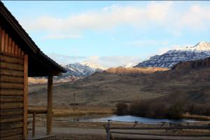 Scenic view at Rand Creek Ranch.