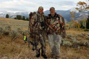 Hunting at Montana High Country Lodge.