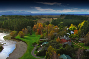 Exterior view of Tongariro Lodge.