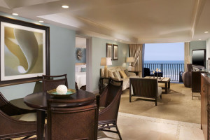 Guest room at One Ocean Resort & Spa.