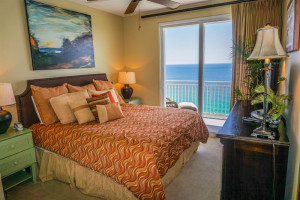 Guest bedroom at Splash Resort.