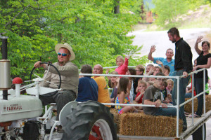 Hay Rides at Benjamin's Beaver Creek Resort