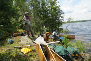 Outdoor activities at Moose Track Adventures Resort.