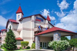 Exterior view of Fairfield Inn Frankenmuth.