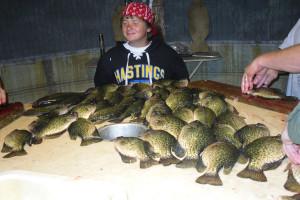 Fishing at Swan Lake Resort.