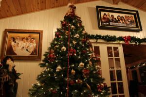 Christmas time at Blair House Inn.