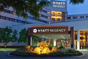 Exterior View of Hyatt Regency New Brunswick