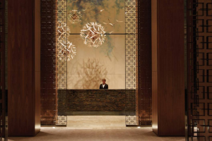 Front Lobby at the Four Seasons Hotel - Toronto