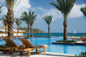 Outdoor pool at The Westin Dawn Beach Resort & Spa.