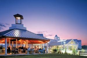 Gazebo at Hyatt Regency Chesapeake Bay Golf Resort, Spa and Marina.