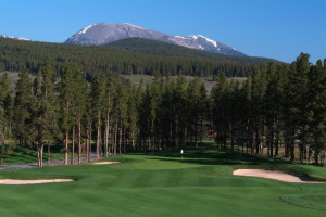 Golf course near BlueSky Breckenridge.