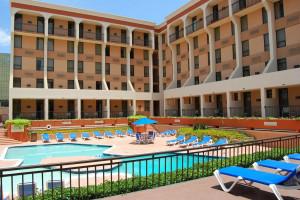 Exterior view of Radisson Hotel Dallas Love Field.