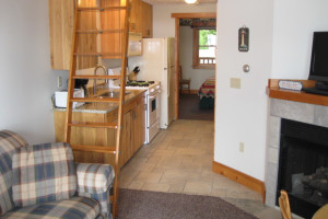 Guest condo at Glen Craft Marina and Resort.