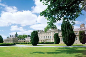 Exterior view of Carton House Hotel & Golf Club.