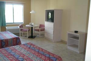 Guest room at Miami Princess Hotel.