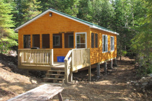 Cabin at Ellen Island Camp
