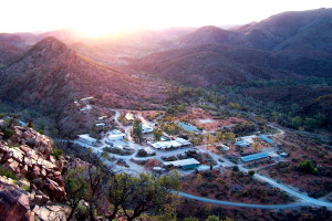 Exterior view of Arkaroola Wilderness Sanctuary and Resort.