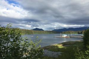 Lake view at Favorite Bay Lodge.