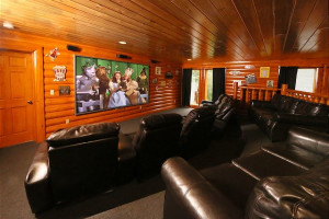 Rental theater at Eden Crest Vacation Rentals, Inc.