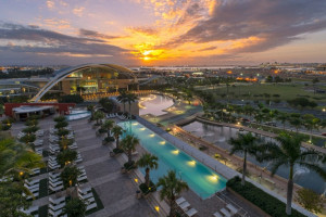 Aerial view of Sheraton Puerto Rico Hotel & Casino.