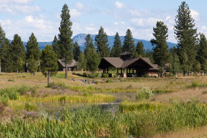 Exterior view of Sunriver Resort.