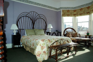 Guest room at Willows Bed & Breakfast Inn.