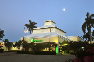 Exterior view of Holiday Inn, Key Largo Resort and Marina.