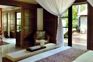 Guest room at Pansea Puri Bali.