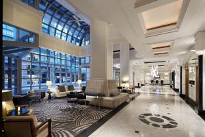 Lobby at Loews Hôtel Vogue.