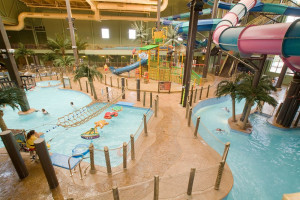 Indoor waterpark at Maui Sands Resort & Indoor Waterpark.