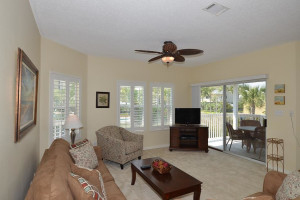 Condo interior at Sandpiper Cove.