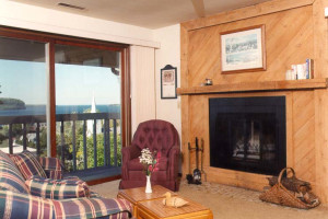 Living room at Harbor View Resort.