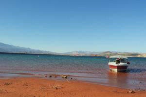 Lake Powell near Best Western Coral Hills.