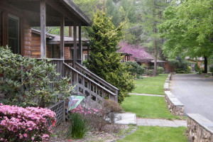 Exterior of Cabins at Brookside Cabins
