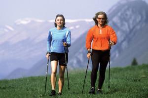 Hiking at Stoweflake Mountain Resort & Spa.