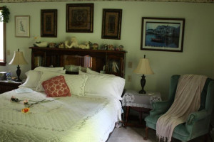 Guest room at Lonesome Dove Bed and Breakfast.