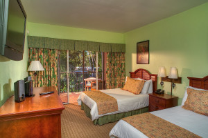 Guest room at Chesapeake Beach Resort.