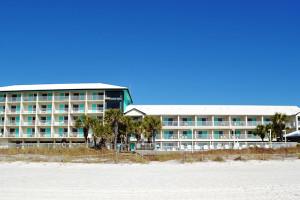 Exterior view of Bikini Beach Resort Motel.